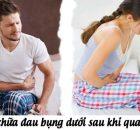 Cách chữa đau bụng dưới sau khi quan hệ cho nam và nữ giới hiệu quả 17