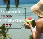 Ngày đèn đỏ có nên uống nước dừa điều hòa kinh nguyệt không? 11