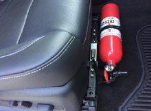 quy định về bình chữa cháy trên xe ô tô